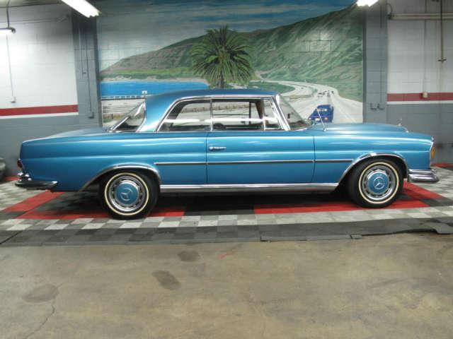 Used 1967 mercedes benz 250 se coupe at aaa motor cars for Mercedes benz 250 se