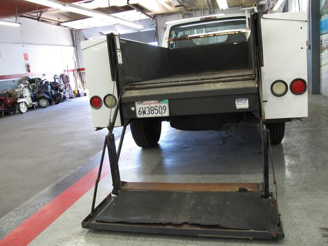 Hydraulic Lift Tailgate : Used ford f hd hydraulic lift gate at aaa motor cars