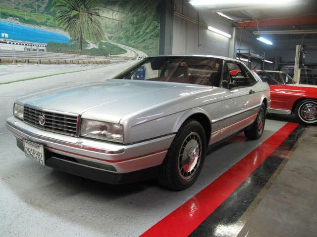 used 1987 cadillac allante 39 convertible at aaa motor cars. Black Bedroom Furniture Sets. Home Design Ideas